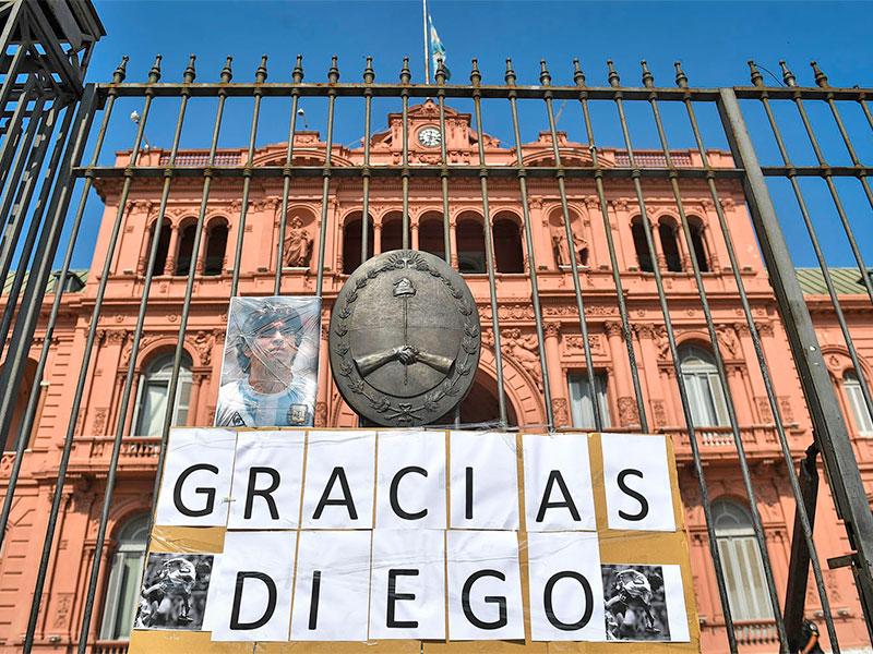 Alberto Fernandez confirmo que Diego Armando Maradona sera velado en la Casa Rosada