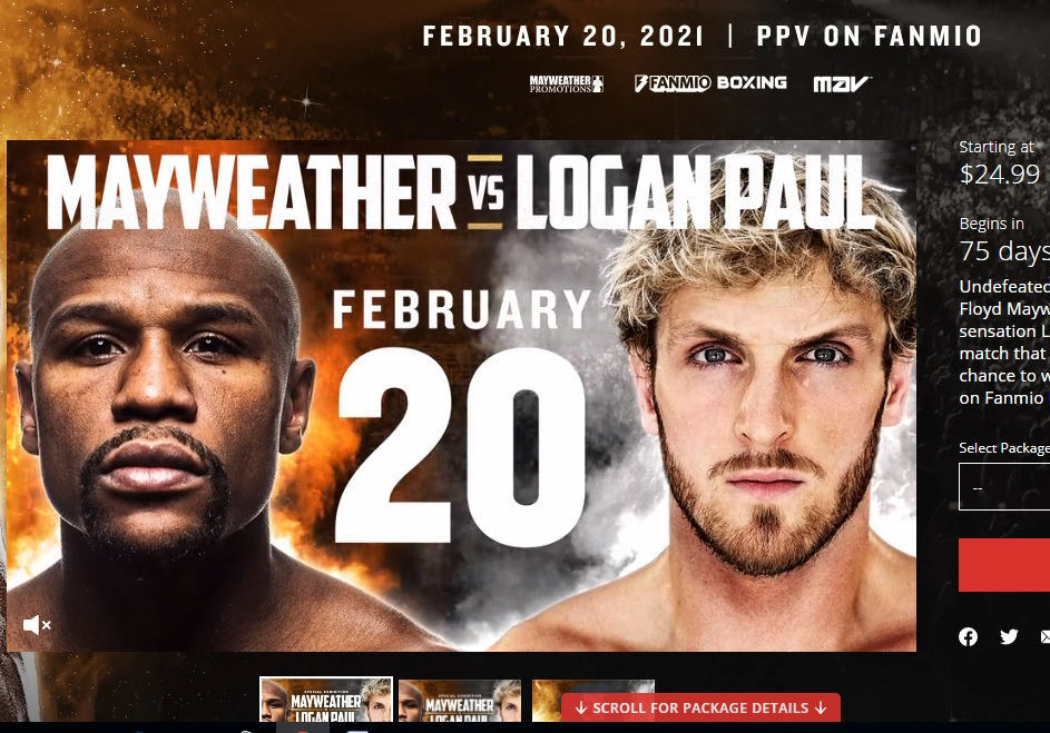 Floyd Mayweather Jr. volverá al boxeo; enfrentará a reconocido youtuber