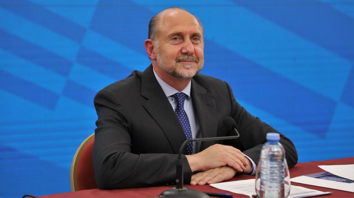 El mandatario santafesino anunció su alta epidemiológica de Covid-19